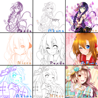 Switcharound Meme Love Live by PandaberryX3