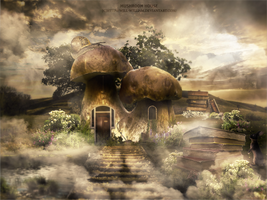 Mushroom House by Will-William