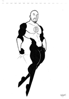 Green Lantern by BevisMusson