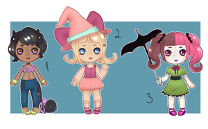 halloween Adopts! (OPEN) by N-Gikko