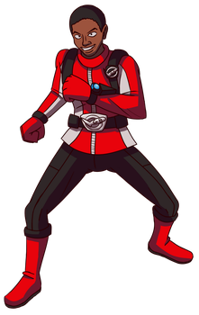 Red Buster Commission by Stolken