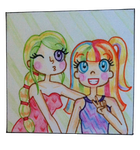 Sisters - Bronte and Faye by Maddie-Pie