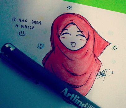 It Has Been a While.. by littleMuslimah
