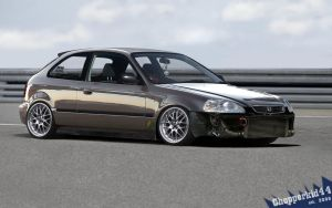 JDM Civic Hatchback Updated by chopperkid44