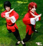Ranma-kun and Ranma-chan by Bell-hime