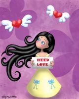 Need love by Myria-Moon by Myria-Moon