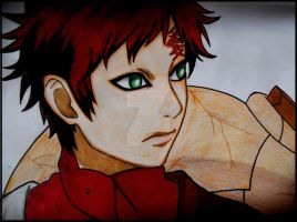 Sabaku no Gaara by Amrinalc