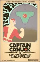Commission: Captain Canuck by Hartter