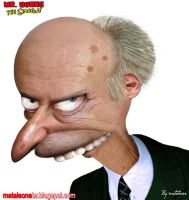 Mr. Burns real by mataleoneRJ