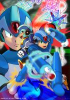 X from RockmanX,RockmanZero by zenithexe