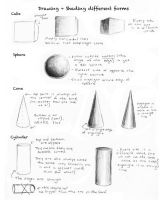 Shading Basic Forms by ccRask
