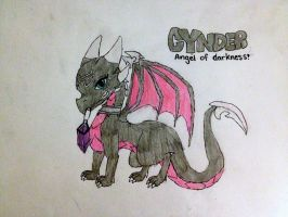Cynder: Angel Of Darkness by darkdragon770