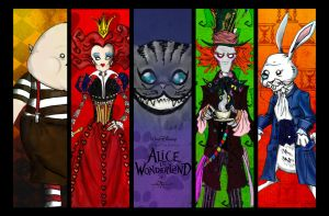 Alice in wonderland by sia1965pak