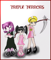 triple terrors by trigonsson