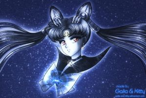 Magical Girl Commission: Sailor Celestial Moon by galia-and-kitty