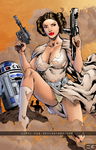 Princess Leia! by comic-eeb
