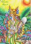 Bastet, Goddess of cats, maternity and family by MoonRises