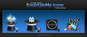 EntertainMe Icon set by Remitrom73