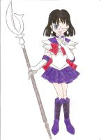 Sailor Saturn by animequeen20012003