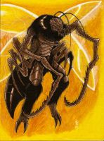 Creature from Bug Buster - 1998 by BlackCoatl