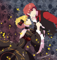 Umineko . Our Game . by aidmoon