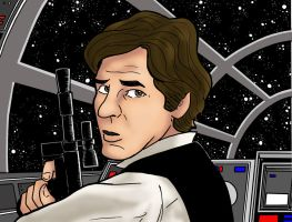 Han Solo by phymns