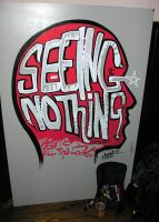 Seeing Nothing live-draw by object000
