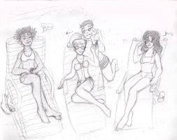 Girls of Summer by ZiaRenete13x