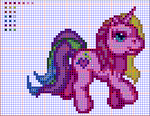 My Little Pony Cross Stitch Pattern by Quina-chan