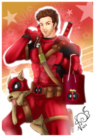 Deadpool Ryan - HB Kanki by Nekoi-Echizen