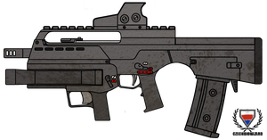 Fictional Firearm: HC-15 Assault Rifle by CzechBiohazard