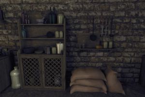 Medieval House - Props Detail by SDTurner