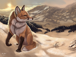 The snow of hope by FlashW