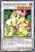 Princess of the Forest (MLP): Yu-Gi-Oh! Card by PopPixieRex