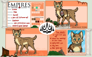 Xenon Ref Sheet 2014 by Rashuu