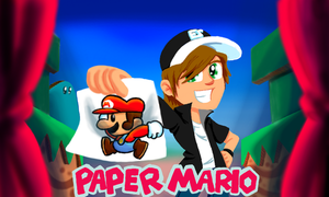 BrainScratchComms: Paper Mario Thumbnail by SmashToons