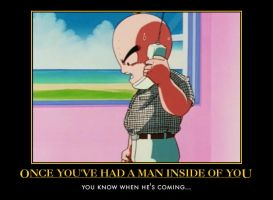 Krillin Demotivational by D-WTF
