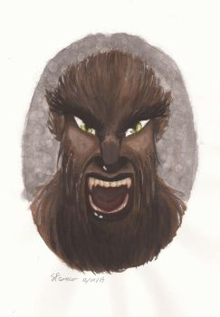 Wolfman by ladydevilman