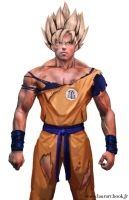Goku - Sangoku real by laura-csajagi