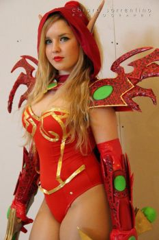 Valeera  sanguinar cosplay world of warcraft by ValeeraHime