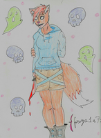 foxy21a72 request by VoltaicCreations