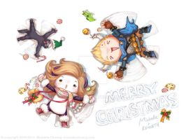 Merry Christmas 2010 by Micchu