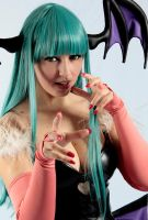 Morrigan Aensland by LollipopBunnie