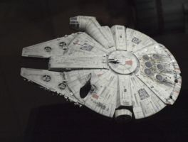 Millenium Falcon by theneopetmaster