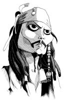 Jack Sparrow by pabloyungblut