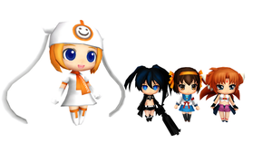 MMD Nendoroid Generation Pack 1 by ChocoKobato
