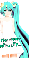Star Moon Miku WIP...possibly Dl by DIBUJOSLOVE