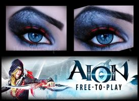 Aion makeup by IkuLestrange