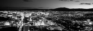 Colorless Las Vegas by geko78