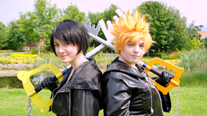 Roxas and Xion - Fate by Millahwood